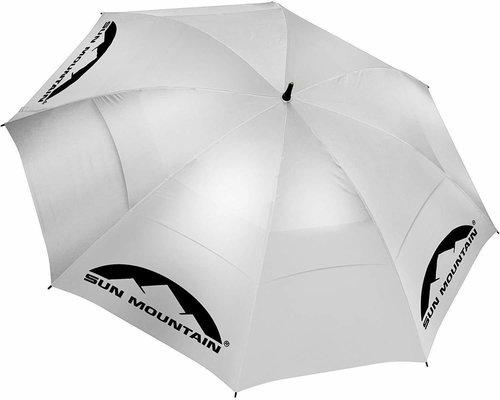 Sun Mountain UV Canopy Umbrella Silver