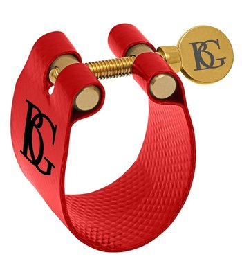 BG France LFA9 Bb Alto Sax Ligature Red