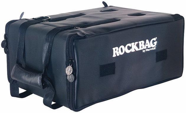 RockBag Shallow Rackbag 4HE/4U Black