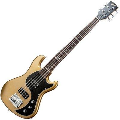 Gibson EB 2014 5 String Bullion Gold Vintage Gloss