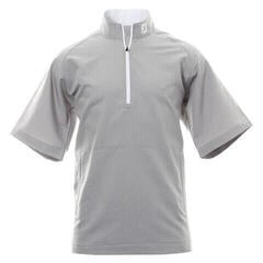 Footjoy Performance Wind Short Sleeve Mens Jacket Grey/White