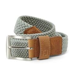Footjoy Braided Belt Grey Long