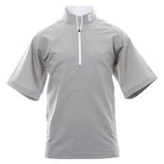 Footjoy Performance Wind Short Sleeve Mens Jacket Grey/White