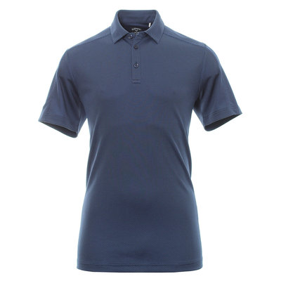 Callaway New Box Jacquard Mens Polo Shirt Medieval Blue S