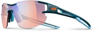 Julbo Aerolite Reactiv Zebra Light RED Dark Blue/Blue Cyan