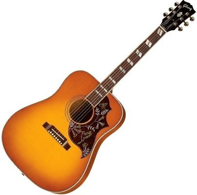 Gibson Hummingbird Red Spurce Heritage Cherry Sunburst