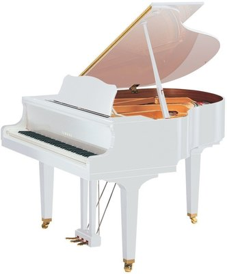 Yamaha GB1K SG2 Grand Silent Piano Polished White