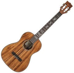 Kala All Solid Acacia Baritone Ukulele with Case