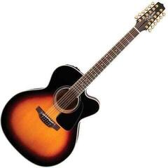 Takamine P6JC-12 Brown Sunburst (Déballé) #924529