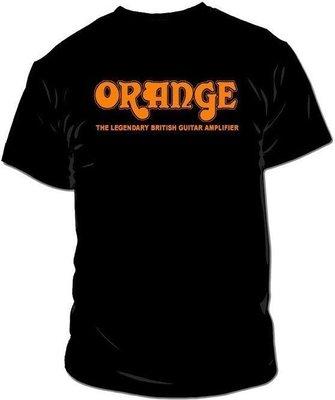 Orange Classic T-Shirt Black M