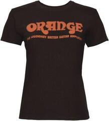 Orange Classic Ladies T-Shirt Brown M