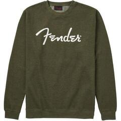 Fender Spaghetti Logo Pullover Army Green