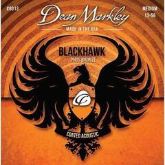 Dean Markley Blackhawk Coated Pure Bronze A Strings Medium 13-56