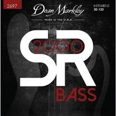 Dean Markley Sr2000 Bass Guitar Strings Medium Light 6Str 30-125