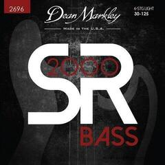 Dean Markley Sr2000 Bass Guitar Strings Light 6Str 30-125