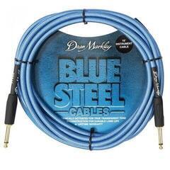 Dean Markley Blue Steel Instrument Cable Niebieski/Prosty - Prosty