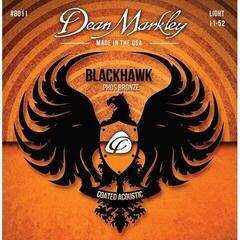 Dean Markley Blackhawk Coated Pure Bronze A Strings Light 11-52