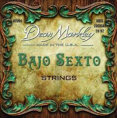 Dean Markley Classical Strings Bajo Sexto Doce Cuerdas 28-92