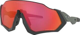 Oakley Flight Jacket Matte Steel M/Prizm Trail Torch