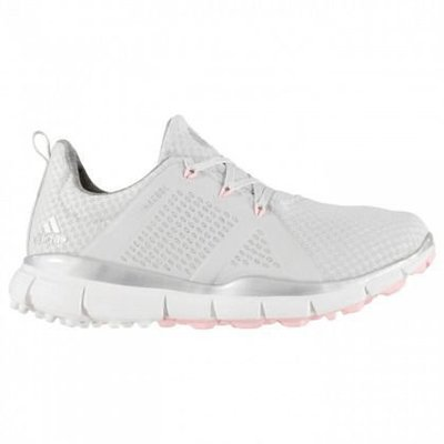 Adidas Climacool Cage Női Golf Cipők Grey OneSilver MetallicTrue Pink UK 6