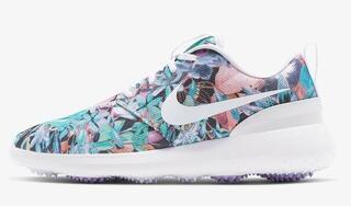 Nike Roshe G Womens Golf Shoes Purple Dawn/White/Metallic White