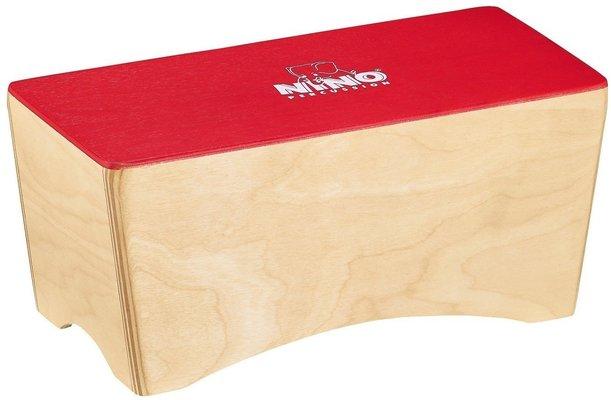 Nino NINO931R Bongo Cajon, Red Top