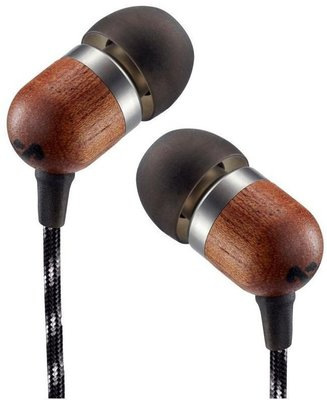 House of Marley Smile Jamaica One Button In-Ear Headphones Midnight