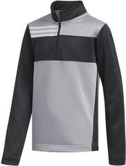Adidas Colorblocked Layer Junior Sweater Grey Three 15-16Y