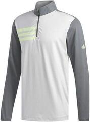 Adidas 3-Stripes Competition 1/4 Zip Mens Sweater Grey Five/Grey Two