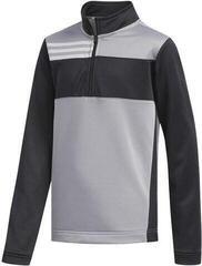 Adidas Colorblocked Layer Junior Sweater Grey Three 7-8Y
