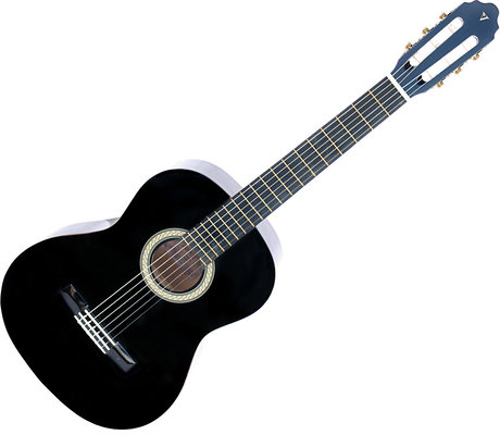 Valencia CG150 Classical Guitar Black