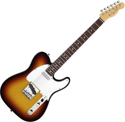 Fender American Vintage '64 Telecaster, Round-Lam Rosewood Fingerboard, 3-Color Sunburst