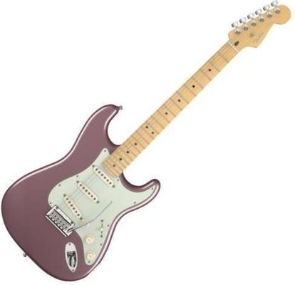 Fender American Deluxe Stratocaster Maple Fingerboard, Burgundy Mist Metallic