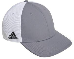 Adidas A-Stretch Tour Crestable Hat Grey/White