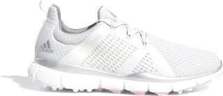 Adidas Climacool Cage Womens Golf Shoes Grey One/Silver Metallic/True Pink UK 4,5