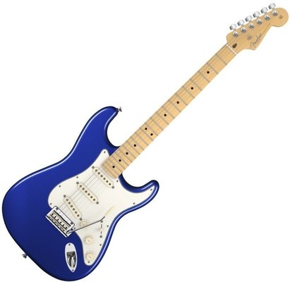 Fender American Standard Stratocaster, Maple Fingerboard, Mystic Blue