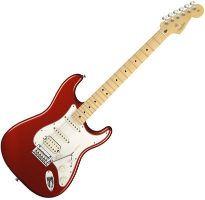 Fender American Standard Stratocaster HSS, Maple Fingerboard, Mystic Red