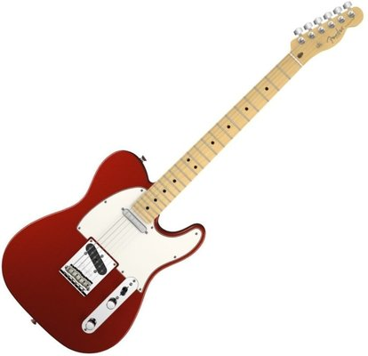 Fender American Standard Telecaster, Maple Fingerboard, Mystic Red