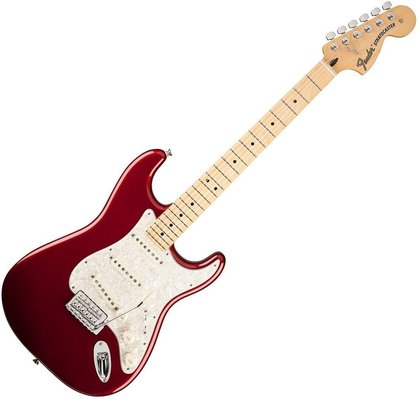Fender Deluxe Roadhouse Stratocaster Maple Fingerboard, Candy Apple Red