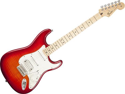 Fender Standard Stratocaster HSS PlusTop, Maple Fingerboard, Aged Cherry Burst