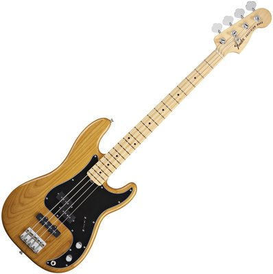 Fender Tony Franklin Fretted Precision Bass Maple Fingerboard, Gold Amber