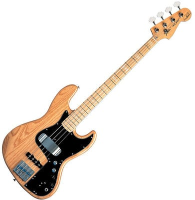 Fender Marcus Miller Jazz Bass Maple Fingerboard, Natural