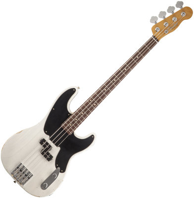 Fender Mike Dirnt Road Worn Precision Bass Rosewood White Blonde