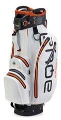 Big Max Aqua Sport 2 White/Black/Orange Cart Bag (B-Stock) #927956 (Rozpakowany) #927956