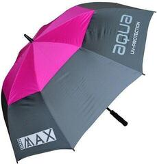 Big Max Aqua Umbrella Charcoal/Fuchsia