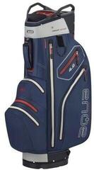 Big Max Aqua V-4 Navy/Silver/Red Cart Bag
