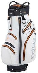 Big Max Aqua V-4 White/Black/Orange Cart Bag