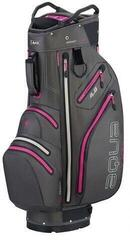 Big Max Aqua V-4 Charcoal/Fuchsia Cart Bag