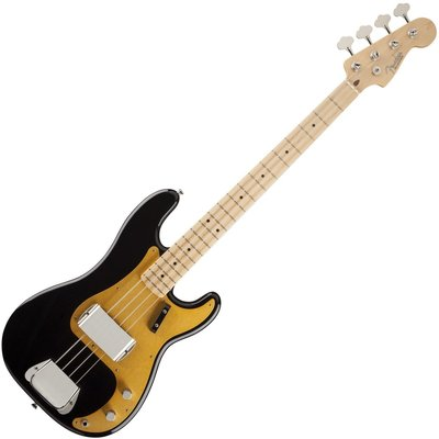 Fender American Vintage '58 Precision Bass, Maple Fingerboard, Black