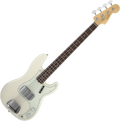 Fender American Vintage '63 Precision Bass, Rosewood Fingerboard, Olympic White